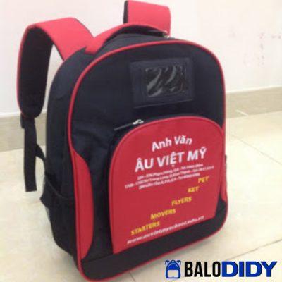 Balo quà tặng học sinh trường Âu Việt Mỹ
